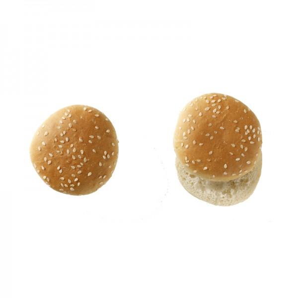 Mini Hamburgerbrötchen mit Sesam, TK
