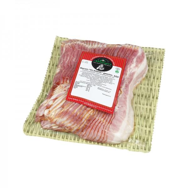 Bacon in Scheiben