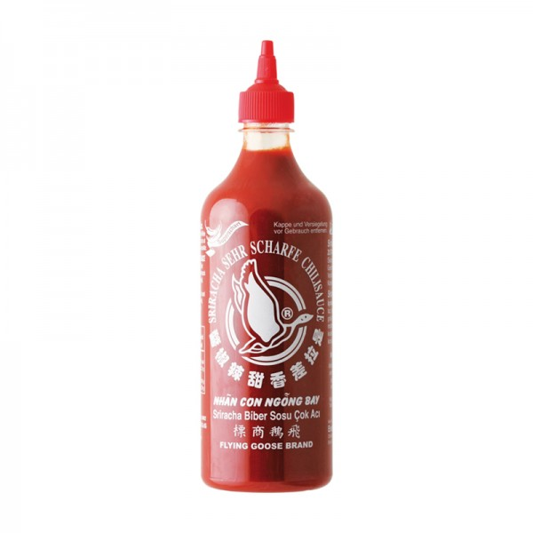 Sriracha sehr scharfe Chilisauce