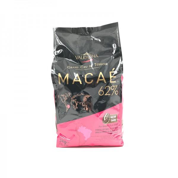 Kuvertüre Macaé 62% dunkel