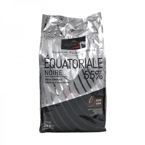Kuvertüre Équatoriale 55% dunkel