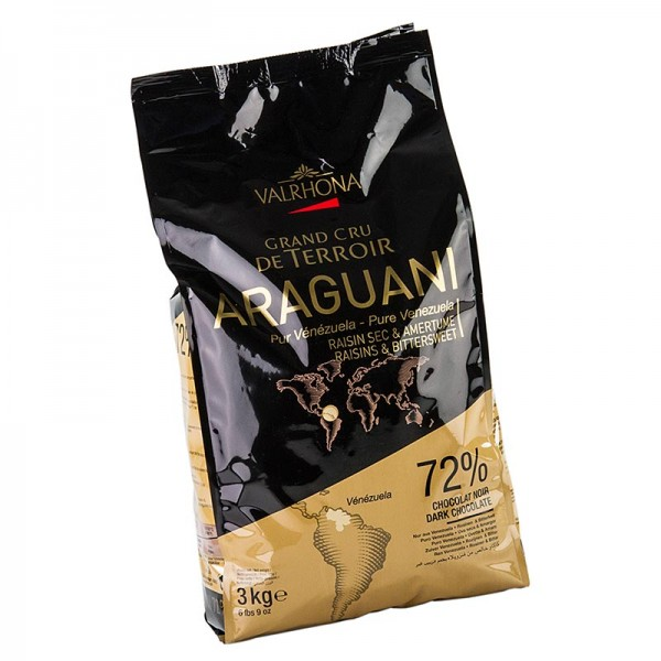 Kuvertüre Araguani 72% dunkel