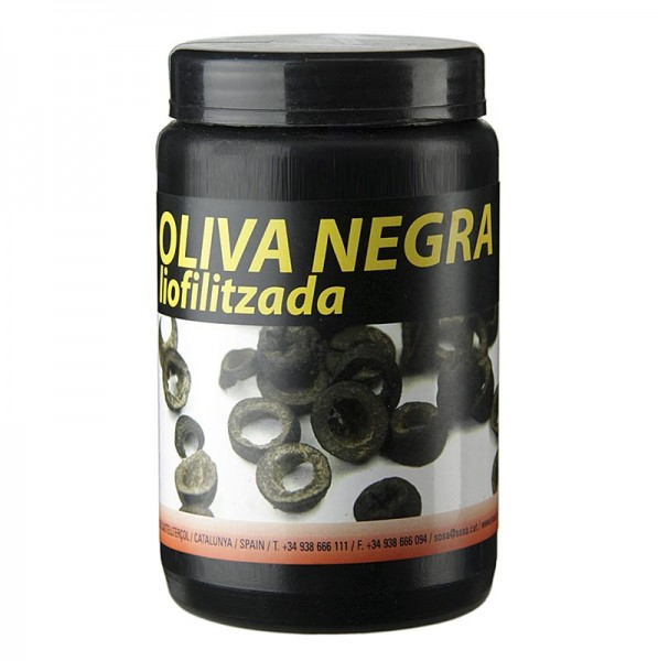 Schwarze Oliven gefriergetrocknet